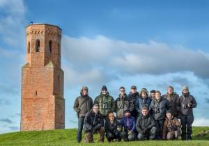Groepsfoto aan Plompe Toren
